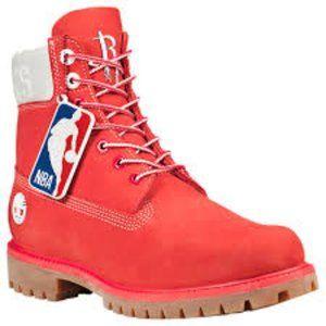 TIMBERLAND NBA HOUSTON ROCKETS  ALL SIZES